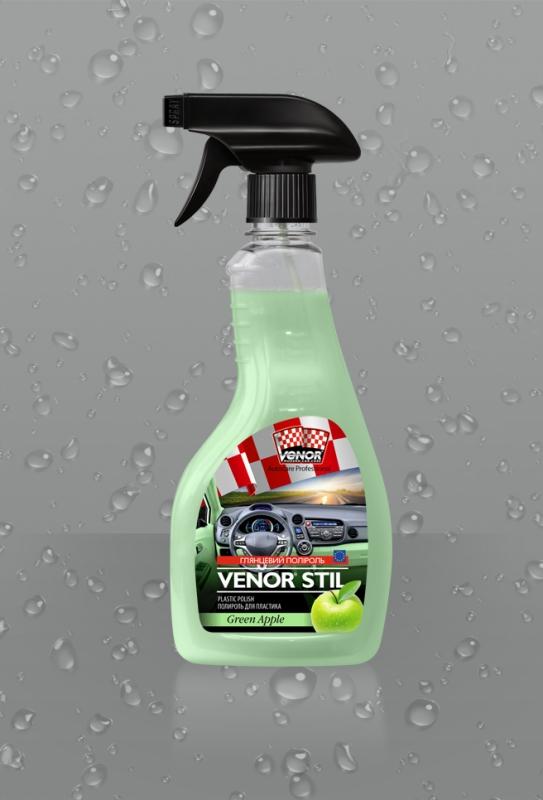 VENOR<sup>®</sup> STIL (Green Apple)<br><b style=font-size:12px;>(Полироль для пластика)</b> 0
