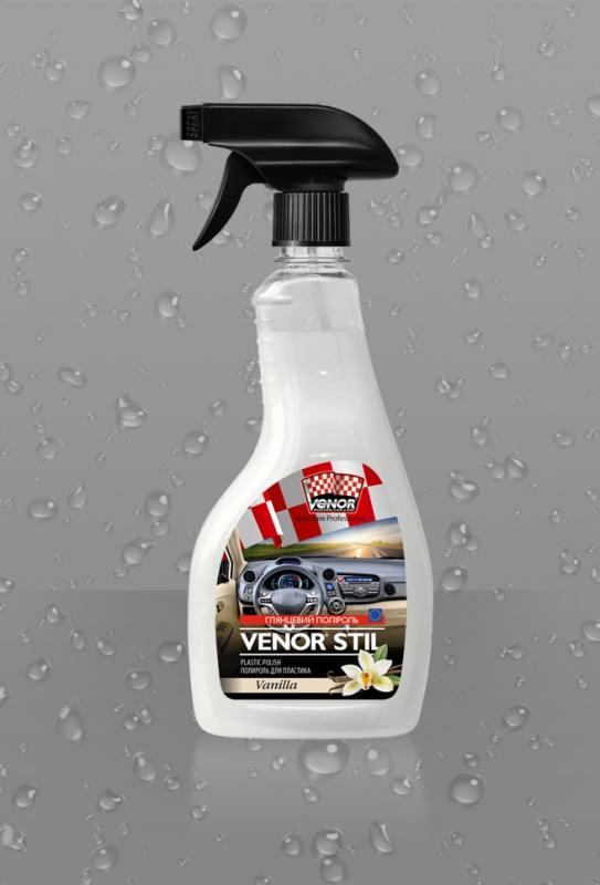 VENOR<sup>®</sup> STIL (Vanilla)<br><b style=font-size:12px;>(Полироль для пластика)</b>