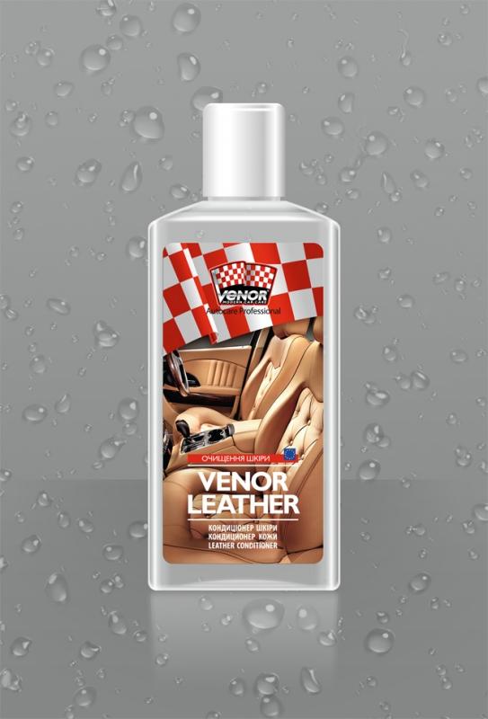 VENOR<sup>®</sup> LEATHER<br><b style=font-size:12px;>(Кондиционер для кожи)</b>