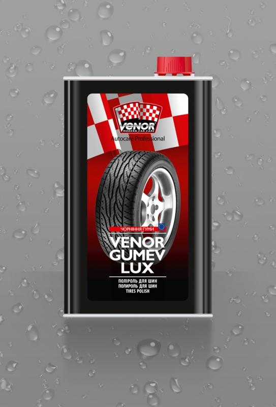 VENOR<sup>®</sup> GUMEV LUX<br><b style=font-size:12px;>(Затемнювач гуми)</b>