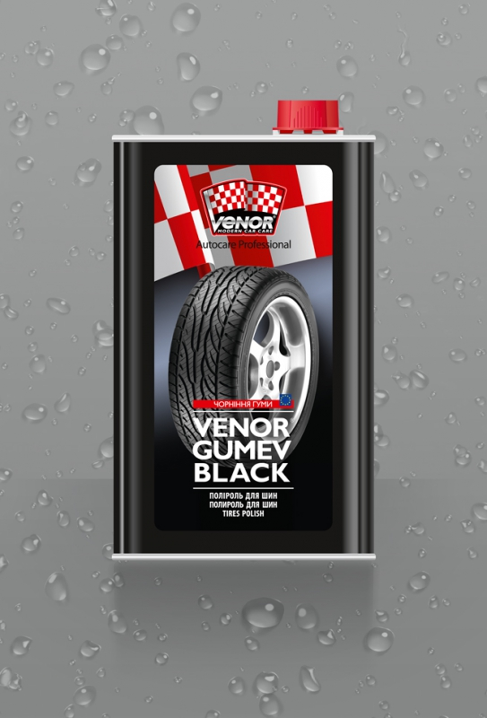 VENOR<sup>®</sup> GUMEV BLACK<br><b style=font-size:12px;>(Затемнювач гуми)</b>