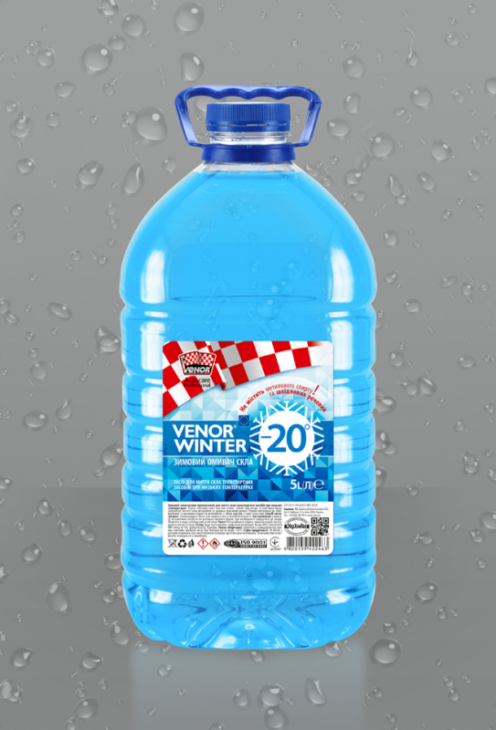 VENOR<sup>®</sup> WINTER -20°</b><br><b style=font-size:12px;>(Очисник скла)</b>