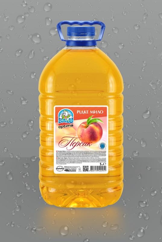 BALU<sup>®</sup> OPTIMA Персик <br><b style=font-size:12px;>(Жидкое мыло)</b>