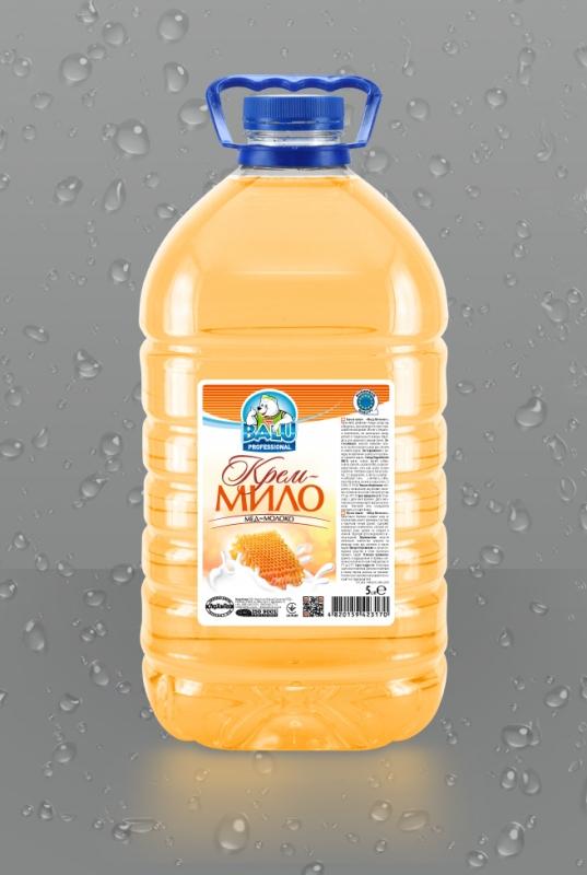 BALU<sup>®</sup> Мед-Молоко <br><b style=font-size:12px;>(Крем-мыло)</b>