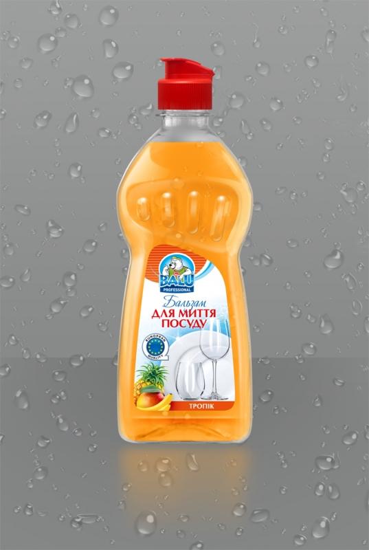 BALU<sup>®</sup> Тропик <br><b style=font-size:12px;>(Бальзам для мытья посуды)</b>
