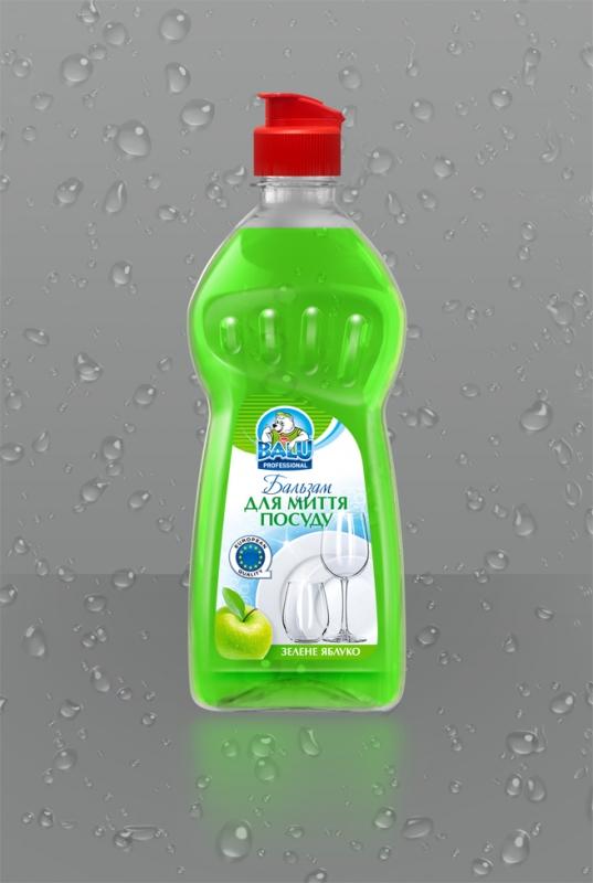 BALU<sup>®</sup> Зеленое яблуко <br><b style=font-size:12px;>(Бальзам для митья посуды)</b>