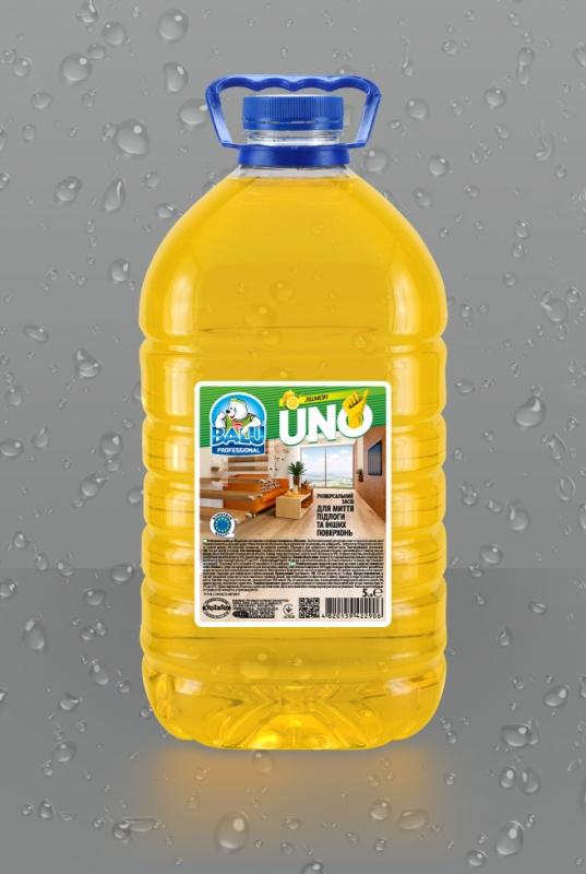 BALU<sup>®</sup> Лимон <br><b style=font-size:12px;>(Универсальное средство для мытья пола и других поверхностей)</b>