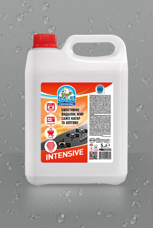 BALU<sup>®</sup> INTENSIVE <br><b style=font-size:12px;>( Профессиональное средство для мытья кухни и гриля )</b>