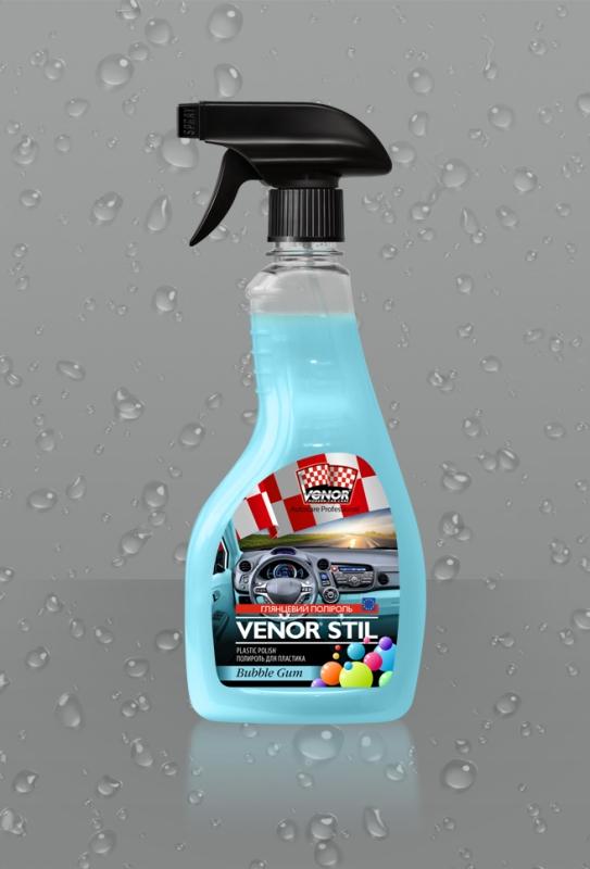 VENOR<sup>®</sup> STIL (Bubble Gum) <br><b style=font-size:12px;>(Полироль для пластика)</b>