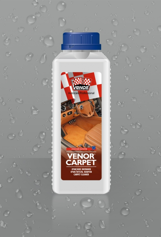 VENOR<sup>®</sup> СARPET <br><b style=font-size:12px;>(Средство для чистки ковров с антимикробным действием )</b>